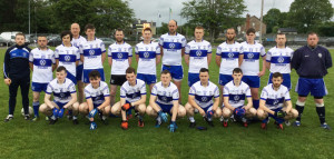 The Desmonds team which will face Ballydonoghue in the County Junior Division 2 League Fnal on this Friday evening, September 2nd at 7pm in Finuge. Front from left: Cian O'Connor, Tadgh Walsh, Kieran Breen, Graham O'Connor, Steven Bartlett, Gearoid Leonard and Micheál Walsh. Back from left:  Seán Lynch, John Begley, Danny Browne, Kieran O'Callaghan, Seán Prendiville, John Kelly, Joe Kearney, Chris Brosnan, Marc O'Connor, Pa White, Daithí O'Leary, Neilus Lyons and Kevin Moran. Photograph: Gerdie Murphy.