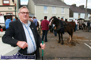 The inimitable Sir John Cotter enjoying every minute of the 2013 horse fair in Knocknagoshel. This year's fair will be held on the coming Tuesday, August 16th. ©Photograph: John Reidy