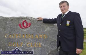 John Manton, Castleisland Golf Club Captain 28-5-2016