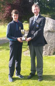 Luke Walsh, Munster U-15 Amateur Golf Champion 4-8-2016