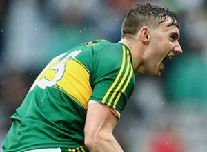 Kerry star, James O'Donoghue will meet students with his AIB colleague, Ronan McAuliffe at the bank offices in Castleisland on Thursday.