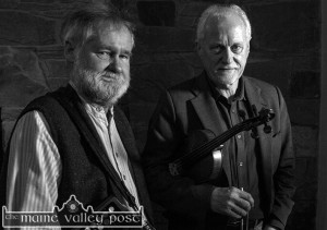 Jackie Daly and Matt Cranitch will play a free concert at Scartaglin Heritage Centre to mark 2016 Culture Night and the launch of the new Handed Down season. ©Photograph: John Reidy