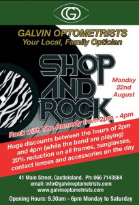 Shop and Rock August