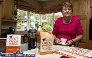 Eileen O'Shea preparing for her Kerry Hospice Foundation Coffee Morning at her home in Currow on this Friday from 10am to 5pm. ©Photograph: John Reidy