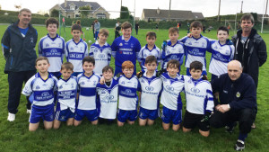 The Castleisland Desmonds GAA Club U-12 team and mentors which won the Castleisland District U-12 Plate Competition. Front from left: Conor Geaney, Isaac Brosnan, Patrick O'Shea, Owen Shire, Jack Breen, Christopher Divane, Shay Lawless and Finn Nolan with Domnic O'Shea mentor. Back from left: Seamus Conway, mentor; Colm McAuliffe, Rory Burke, Skye Lynch, Conor Wilkinson, Jack Geaney, Evan Murphy, Tomas Conway and Seamus Fleming, captain and Pat Lynch, mentor. Photograph: Gerdie Murphy.