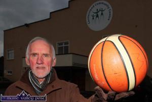 St. Mary's Basketball Club Christmas Blitz founder member, Donal 'Duke' O'Connor. ©Photograph: John Reidy