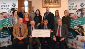 At the launch of the Padraig Pearse Fund were , front from left: Cllr. Jim Finucane, Kerry ETB, Colm McEvoy, Kerry ETB; John Long, Chapter 23 and John O'Regan, Chapter 23 Credit Unions.  Back from left: Ann O'Dwyer,KETB;  Lorcan McLoughlin, Chapter 23;  Helen Courtney-Power, Chapter 23;  Padraig Flynn, Chapter 23;  Suzanne Ennis, Chapter 23; Eoin McDonnell, KETB;  Geraldine Reidy, Chapter 23 and Mairéad Collins, Chapter 23. Photograph:Domnick Walsh Eye Focus