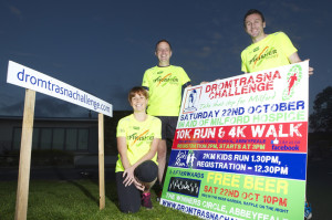 Getting ready for the 2016 Dromtrasna Challenge which takes place on Saturday 22nd October was l-r: Debra Colbert, Kieran Flannery and Dee McCarthy.