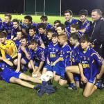 Ballymac Celebrates U-16 Town League Win