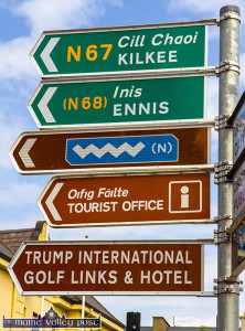 Trump that: No one will in Kilrush and his business interests there draw tourists on its own. ©Photograph: John Reidy