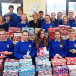 Students and Teachers Combine in Shoebox Appeal at Community College