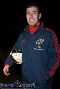 Back to Munster: JJ Hanrahan pictured at Castleisland RFC headquarters, The Crageens. Photograph: John Reidy