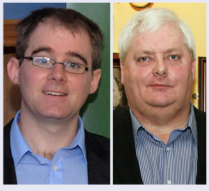 Abbeyfeale activity for the new year will get under way with Benny Thade McCarthy's (left) Rambling House at Fr. Casey's GAA Clubhouse on January 19th while former All-Ireland champion singer, Philip Enright will get the ??? Singers' Club underway on January 6th in The Ramble Inn.