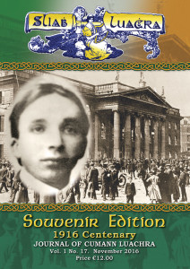 The cover and the 17th Sliabh Luachra Journal which is in all local bookshops now at €12.