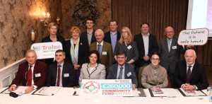 Tralee Credit Union announcing €260,000 Community Fund 2017-2020: Directors front from left to right: Sean Roche, Michael O'Sullivan, Mairead Casey, Eddie Enright, Aoife Lynch and Fintan Ryan, CEO.  Middle Row:  Caroline Sugrue, Anna Brosnan, Tom Lawlor, chairman; Una Glazier-Farmer, Secretary; John O'Connor, vice chairman. Back Row: Board oversight committee members: Gerard Pierse, Luke Prendiville, and Niall O'Carroll.  Photograph: Domnick Walsh/Eye Focus LTD ©
