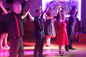 Action from last year's Strictly Come Dancing finale at Ballygarry House Hotel.
