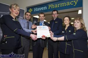 Haven Pharmacy Free Health Checks 26/01/2017