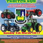 Excitement Building for Castleisland Community College Tractor Run