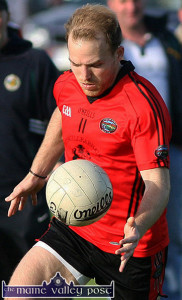 Darran O'Sullivan - back in a Croke Park final this time with his club Glenbeigh / Glencar. ©Photograph:  John Reidy