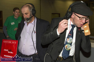 Danny Healy Rae and Michael Healy Rae Election Count 27-2-2017
