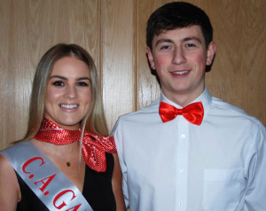 The winners of the judges' vote at the Ballymacelligott GAA Club Strictly Love Dancing were Nicole McEllistrim and Tomas O'Connor.