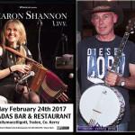 Sharon Shannon at Ó Riada's in Ballymac on Friday Night