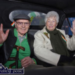 St. Patrick Smiles as Parade Spirit Couldn't be Dampened