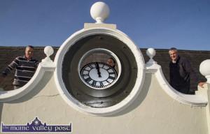 Latin Quarter Clock Replaced 30-9-2015