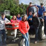Community College Tractor Run – A Roaring Success