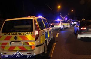 Gardaí are mounting a check-point blitz around Castleisland, Tralee and Killarney today and tonight. ©Photograph: John Reidy