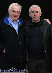 The late Mick 'Parick' O'Connor (left) pictured with his ESB colleague and friend, David 'Dauber' Prendiville. ©Photograph: John Reidy