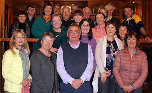 Castleisland Camera Club members at their second meeting at the River Island Hotel. Front row left to right - Mags Murphy Lynch, Anne Bergin, Pat Hartnett and Sheila Hanrahan. Middle row left: Nora Fealey, Elaine Pembroke, Annette O'Connor, Barbara Podraza, Mary O'Donoghue, Breda McGaley.  Back row: Breda Pembroke, David Browne, Máiréad O'Keeffe, Eoghan McGillicuddy, Jim O'Connor, JP Pierre, John Spillane, Margaret Mannix, Noel Keane and John Lenihan.  Photograph: Castleisland Camera Club
