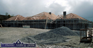 Work was well underway by Griffin Brothers Construction at the Castleisland Day Care Centre site in April 2001. ©Photograph: John Reidy 29-4-2001
