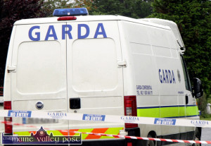 Gardai with back up from  colleagues in the armed Regional Support Unit are cracking down on roving criminal gangs hitting rural areas.  ©Photograph: John Reidy