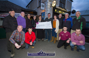 Remembering Ger Coffey Golf Charity Cheque Presentation 2-4-2017