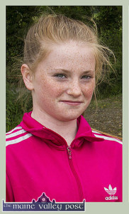 Jessie Cahill was outstanding for the Kerry U-14 girls against Tipperary in the opening round of the Munster Championship. ©Photograph: John Reidy