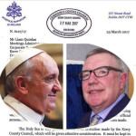 Pope Francis and Cllr. Bobby – The Update