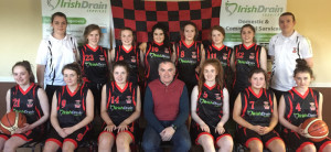 St. Mary's U-16 Girls / Tour to Spain team 27/03/2017