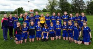 Ballymacelligott U-14 girls who played their final county league game on Sunday in Ballymac against Killarney Legion.