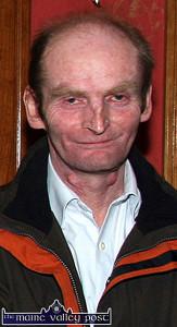 The late Danny McSweeney. ©Photograph: John Reidy