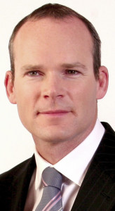Simon Coveney T.D., Minister for Housing, Planning, Community and Local Government.
