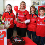 Siobhán's Remarkable Rugby Achievements Celebrated at School