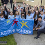 Special Day at Scoil Íde as Aidan O'Mahony Raises Active Flag