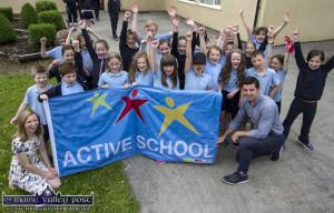 Active Flag at Scoil Íde, Curranes National School 21/06/2017