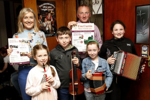 Launch of Con Curtin Music Festival Brosna 09/06/2017