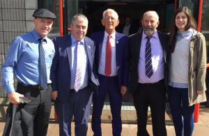 Kevin Boxer Moran visit to Kerry 27-7-2017