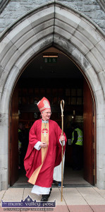 Bishop Ray Buckley announced the kind of changes which reflect the times we live in. ©Photograph: john Reidy