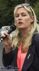 Cllr. Toireasa Ferris has invited members of the public to attend the waste charges protest in Tralee at 1:15pm on this Wednesday. ©Photograph: John Reidy