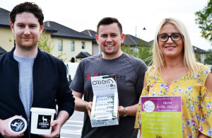 Producers operating from The Kerry Food Hub include: Shane O'Leary, Cordal Goats Cheese; Niall Harty, Harty Nutrition Ltd. and Kate Leen, Leen's Salads/Krave Lunches.