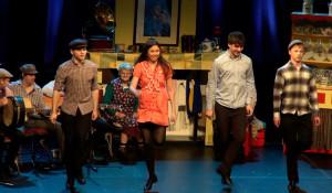 Members of the Irish Rambling House Dancers' troupe ????
